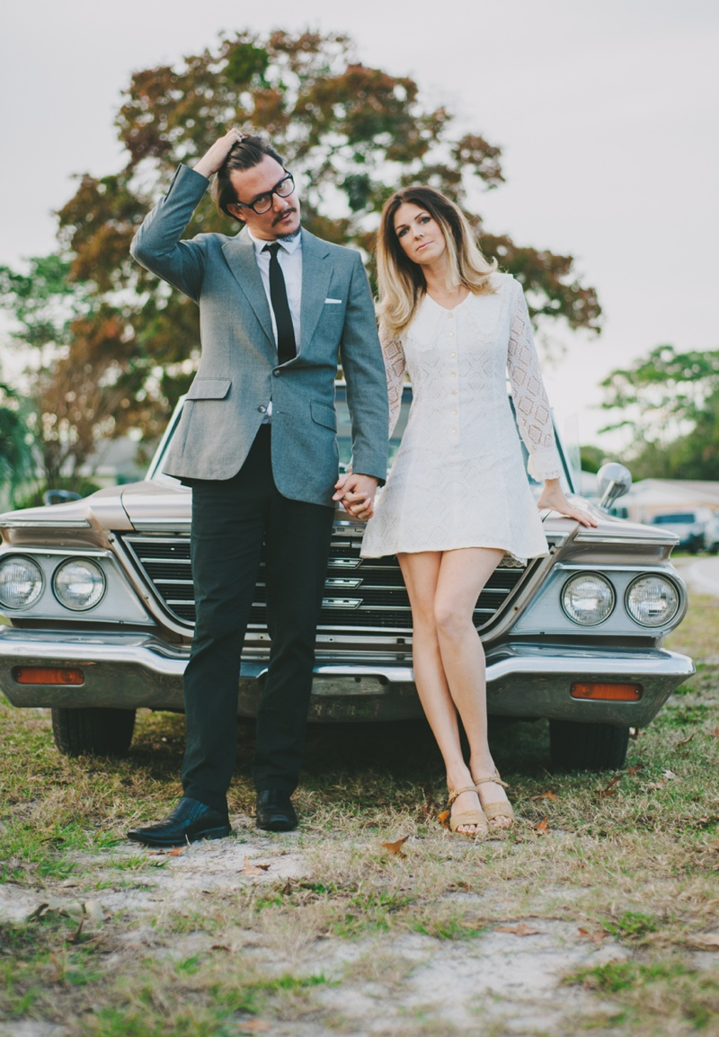 vintage St. Augustine wedding