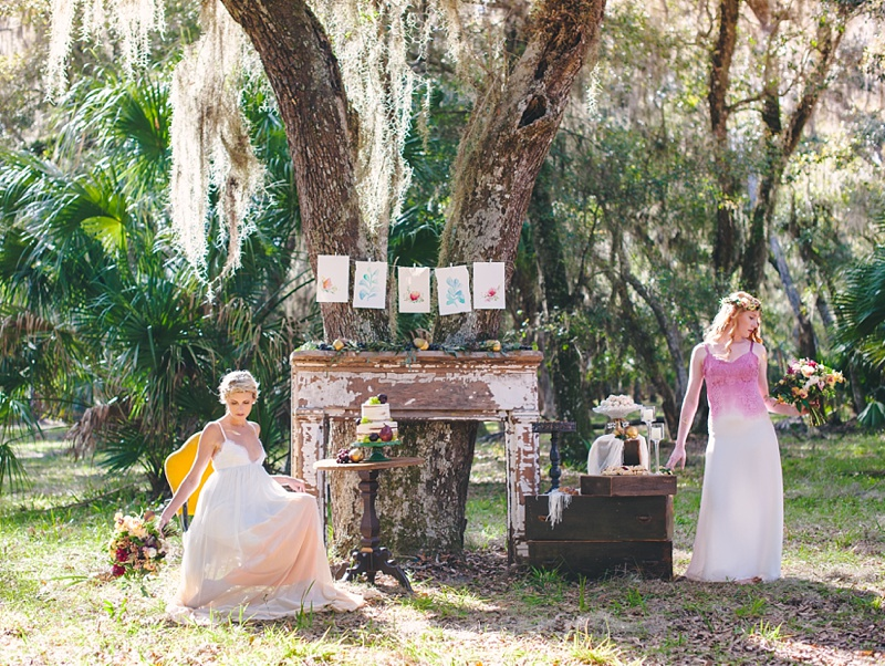 St. Augustine Bridal Photography Shoot at Princess Place Preserve