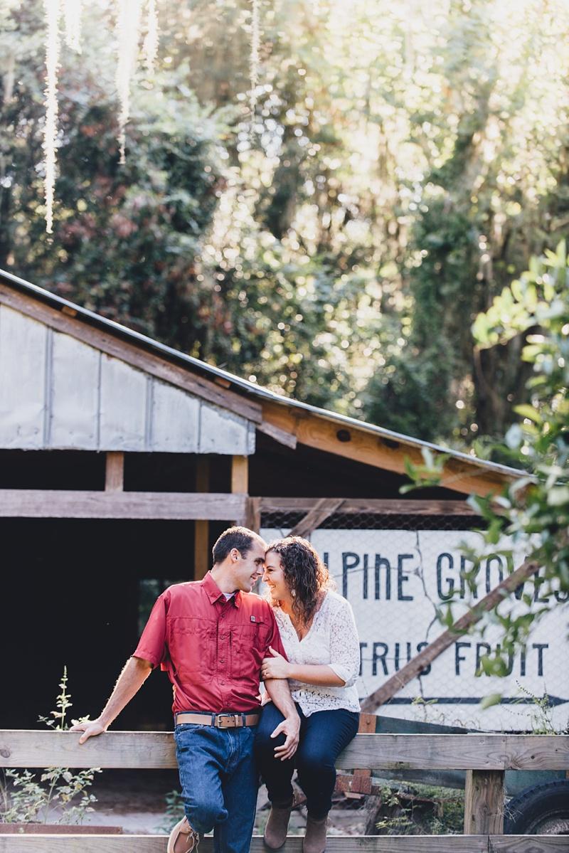 Danny + Kate | Alpine Groves State Park Engagement