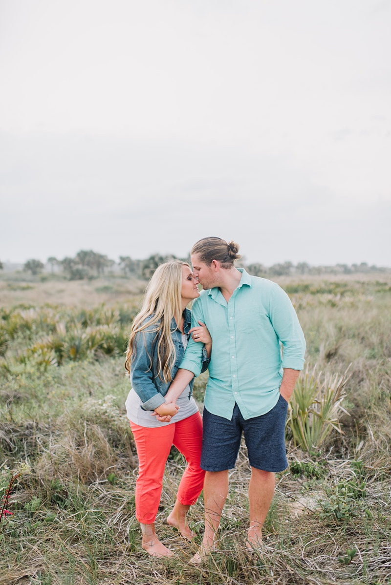 Jason + Elyse | Washington Oaks Gardens Engagement