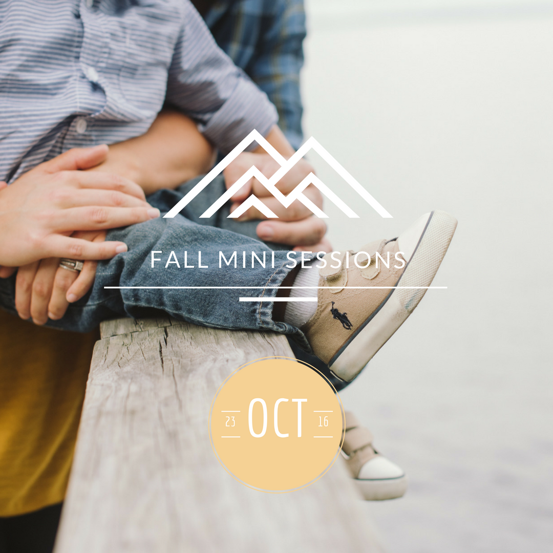 Fall Mini Sessions 2016 | St. Augustine,FL