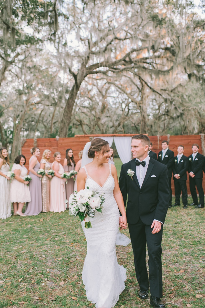 Ashley + Scott | Rod and Gun Club Wedding | St.Augustine