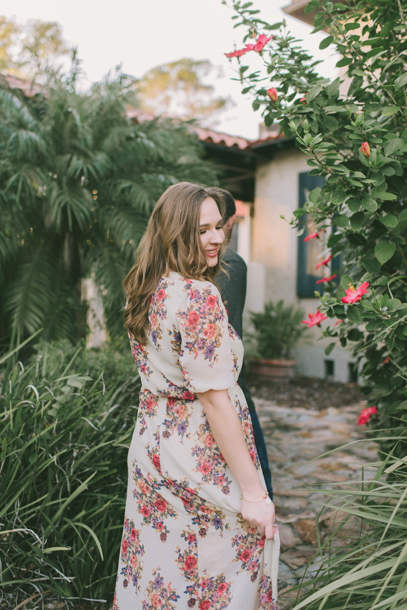 Caitlyn + Spencer | St. Augustine,FL engagement