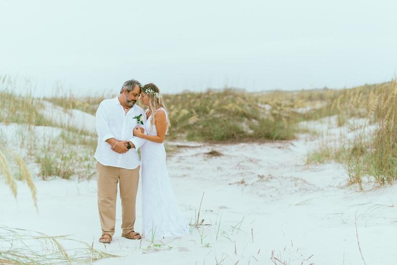 George + Aleshia | Anastasia State Park Wedding