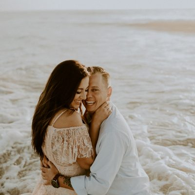Vilano Beach engagement