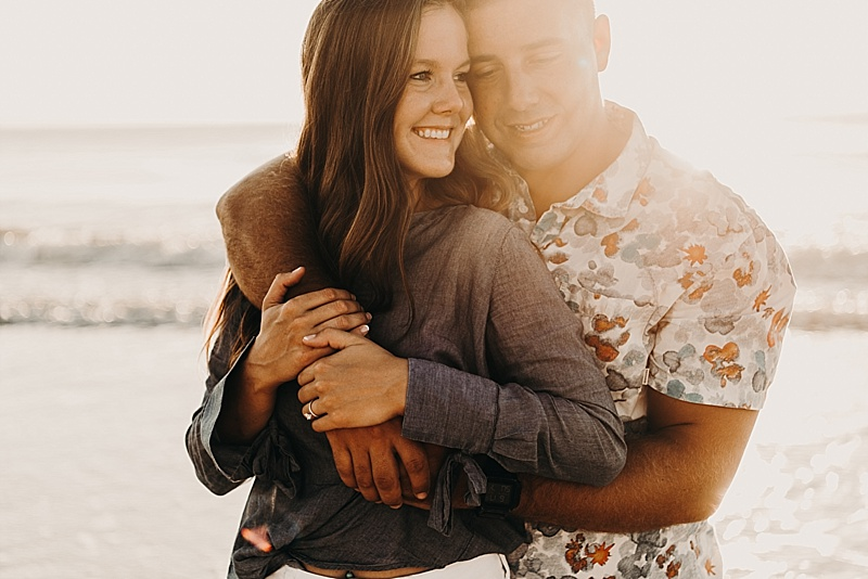 Rob & Allison | Mickler Beach Engagement