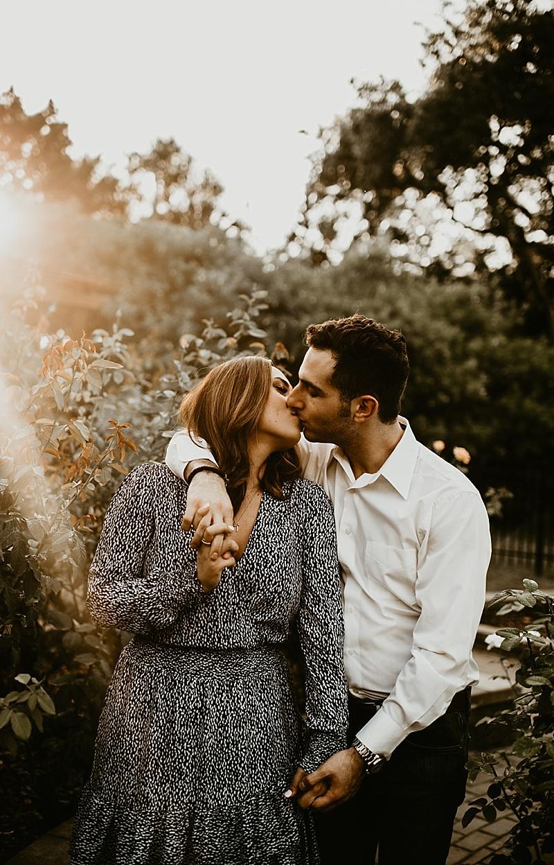 Lily & Brian | Washington Oaks Engagement